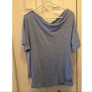 Free People Linen & Cotton top